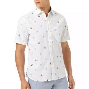 Tommy Bahama Mix Master Martini Button Shirt